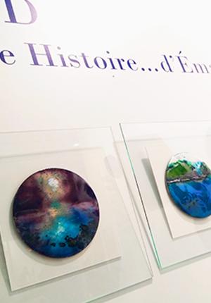 """Exposition des tableaux de la collection """"Les Hublots"""" au salon Résonance(s) à Strasbourg"""