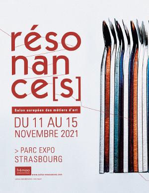 affiche Salon résonances Novembre 2021